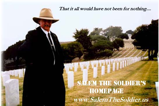 M. Baker, author of Salem the Soldier's Homepage and the spiritual warfare story, Salem the Soldier in Setting The Captives Free.