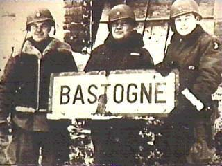 American soldiers in the city of Bastonge