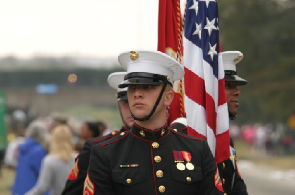U.S. Marines Color Guard