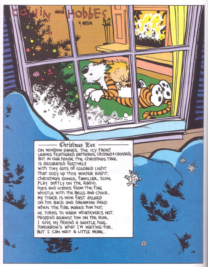 A Calvin and Hobbes Christmas Eve